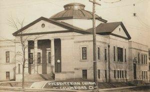 RP: COLUMBIA , Ohio, 1900-10s ; Presbyterian Church