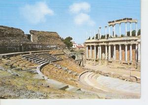Postal 025667 : Teatro Romano. Merida