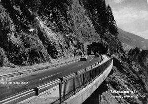 Felbertauernstrasse Prossegklamm Brucke Bridge Vintage Cars Tunnel Psotcard