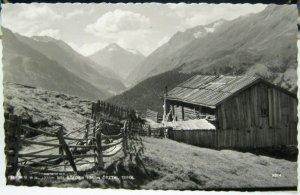 Austria Falkner W H Bei Solden Otztal Tirol RPPC - unposted