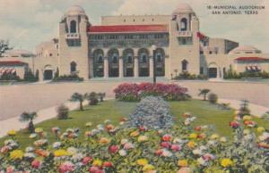 Texas San Antonio Municipal Auditorium