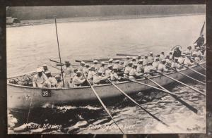 Mint Germany RPPC Real Picture Postcard Our Marine WWI landunganover