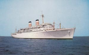 Between NEW YORK and MEDITERRANEAN Ports, 1940-1960's; S.S. Independence, Ame...