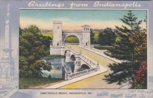Indiana Indianapolis Emrichsville Bridge
