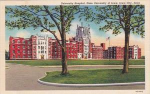 Iowa Iowa City University Hospital University Of Iowa 1950 Curteich