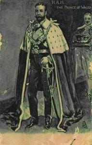 Prince of Wales postcard