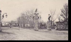 Colorado Pueblo Gateway To City Park Albertype