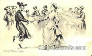 Hochzeits,  Judaic, Judaica, Postcard Postcards 1912