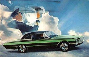 1966 Ford Thunderbird Town Landau two-tone  green vintage pc ZC549364