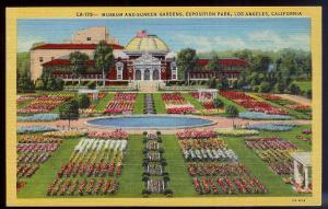 Exposition Park Gardens Los Angeles CA unused c1932