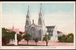 Quebec ~ STE-ANNE DE BEAUPRE The New Church La Nouvelle Eglise - White Border