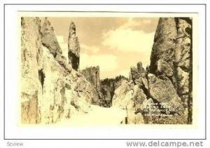RP, Road Through Sylvan Lake, South Dakota, 1904-50s