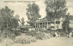 Albertype Lakewood Theater Skowhegan Maine 1930s RPPC Photo Postcard 13064