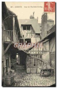 Old Postcard Lisieux charlotte court corday