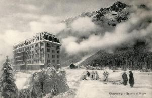 France - Chamonix. Winter Sports