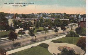 Missouri Kansas City Plaza Independence Avenue 1913