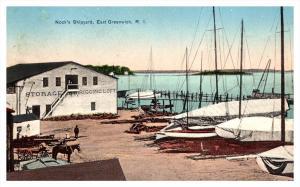 Rhode Island  East Greenwich , Nock's Shipyard