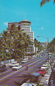 Hawaii Waikiki Kalakaua Avenue