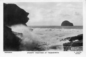 Stormy Weather at Trebarwith