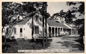 Myrtle Beach South Carolina 1940s Postcard Ocean Pines Motor Court US 17
