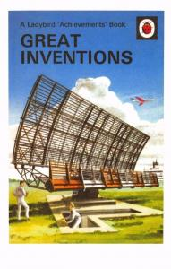 Postcard Great Inventions (1961) Series 601 Ladybird Book Cover
