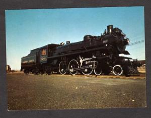 ON Canadian Pacific Railroad Train OTTAWA ONTARIO RR PC