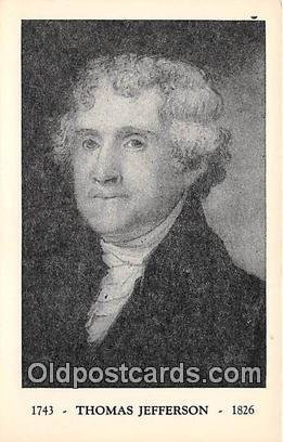 Thomas Jefferson 1743-1826 Unused