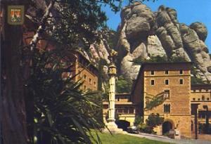 POSTAL 57372: Montserrat detalle del Barrio Gotico