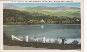 North Carolina Chimney Rock The Chimney Rock Baptist Church