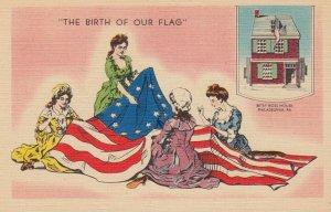 The Birth of Our Flag , Philadelphia , Pennsylvania , 30-40s