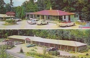 North Carolina Linville Falls Parkview Motor Lodge &  Restaurant 1966