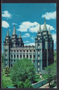 The Mormon Temple,Salt Lake City,UT