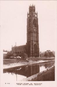 RP: Boston Stump, St. Botolphs from Haven Bank , BOSTON , UK , 00-10s