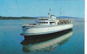 Canada Ferry M V Queen Of Tsawwassen British Columbia