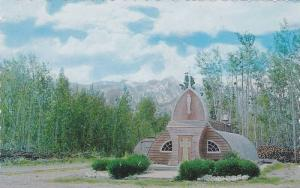 Picturesque Northern Church at Haines Junction, Yukon,  Canada,   40-60s
