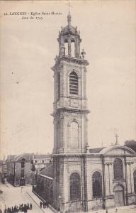 Eglise Saint Martin, Langres (Haute-Marne), France, 1900-1910s