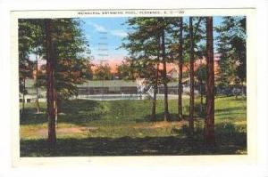 Municipal Swimming Pool, Florence, South Carolina, 1942 PU