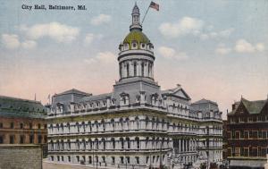 BALTIMORE, Maryland, 1900-1910´s; City Hall