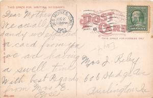 Des Moines Iowa~Savery Hotel~Buffet~Boy @ Street Corner~1912 Postcard