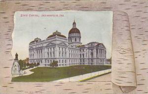 Exterior, State Capitol, Indianapolis, Indiana, PU-1910