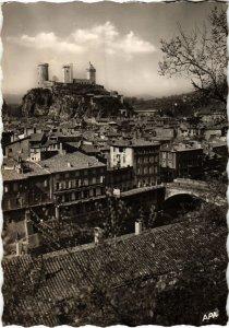 CPM Foix- vue generale et le Chateau FRANCE (1040277)