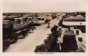 Zimbabwe Rhodesia, Bulawayo, Main Street, Panorama real photo