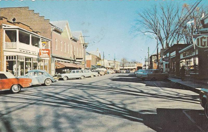 Street View , BEDFORD , Quebec  , Canada , 1950-60s