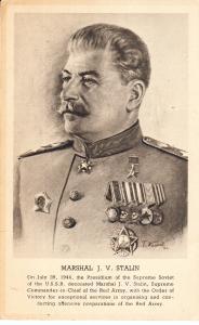 Marshall J. V. Stalin 1944