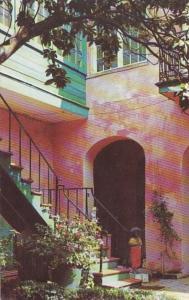Louisiana New Orleans Maison-Montegut Courtyard 729 Royal Street