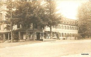 1938 Bread Loaf Vermont The Inn Roadside RPPC Real Photo postcard Gove 7616