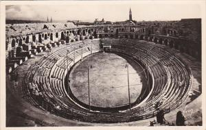 France Nimes Les Arenes Real Photo