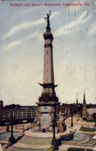 Soldiers' and Sailors' Monument - Indianapolis , Indiana IN