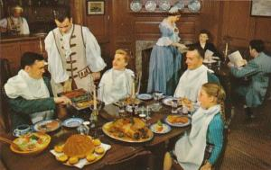 Virginia Williamsburg King's Arms Tavern Dining Room