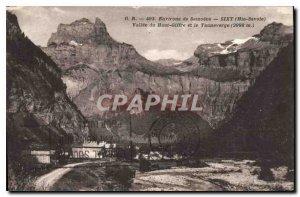 Old Postcard Around Samoens Sixt Haute Savoie Vallee Haut Giffre and Tauneverge